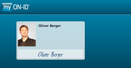 Screenshot myON-ID Oliver Berger