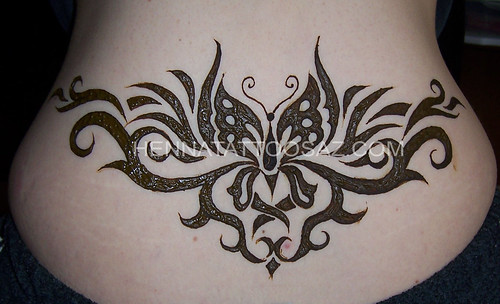 henna tattoo tribal