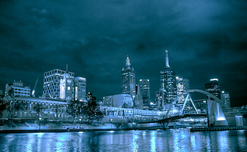 Melbourne - View From Southbank
