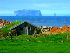 Iceland anyone? Thanks for the 18,000 views of this image (spysgrandson) Tags: sea iceland cottage hut brotherinlaw outlaw grettir skagafjordur drangey onlythebestare concordians northernatlantic colorsinourworld drangeyisland