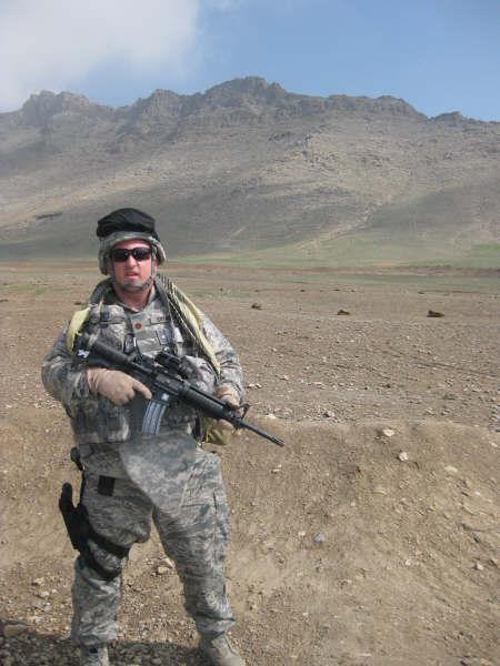 Brinkman Takes Afghanistan