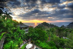HDR Sunset, Costa Rica