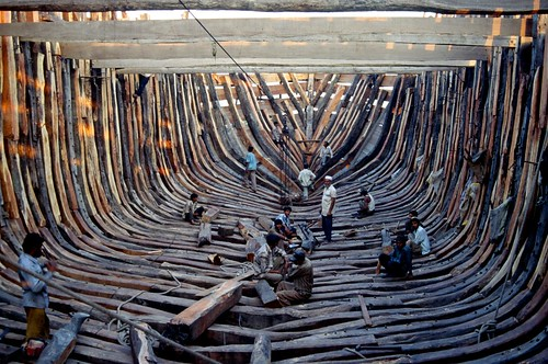 Wooden Ship Building