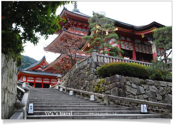 【京都春櫻旅】京都旅遊景點必訪~京都清水寺之美京都清水寺7