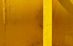 Tanked (A Different Perspective) Tags: shadow newzealand yellow bar tank steel weld join wellington plimmerton adp:posted=2009