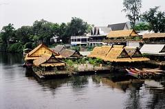 Thailand - River Kwai - 2001 (21) (Smulan77) Tags: river thailand kwai