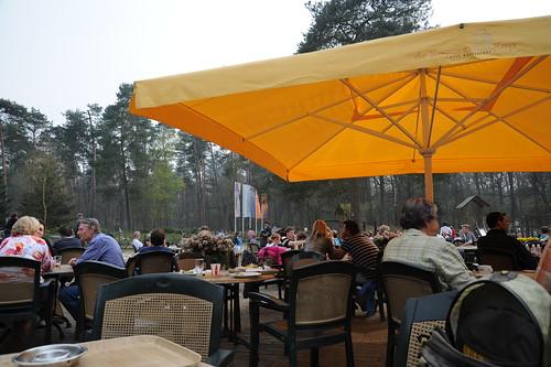 De Hoge Velue 国立公園内のカフェ