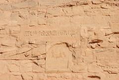inscriptions (Simbon) Tags: temple desert egypt middleeast queen unescoworldheritagesite unesco nile pharaoh monuments aswan inscriptions carvings  abusimbel nubian amun statutes assuan ramesses  lakenasser  ramessesii nefertari ptah rahorakhty  rivernile   aswandam      templeofnefertari pharaohramessesii  templeofhathorandnefertari templeoframesesii