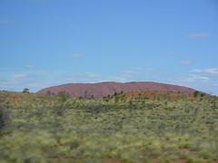 Primera imatge de l'Uluru