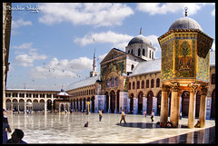 The Umayyad Mosque    ! (Bashar Shglila) Tags: great mosque syria damascus masjid  umayyad masjed