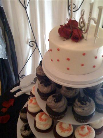 red black and white wedding ideas. red black and white wedding