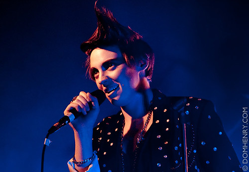 La Roux // NME radar tour - domhenry.com