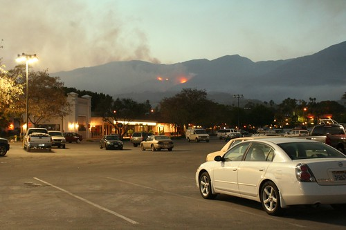 Jesusita Fire Photo Santa Barbara from VONS