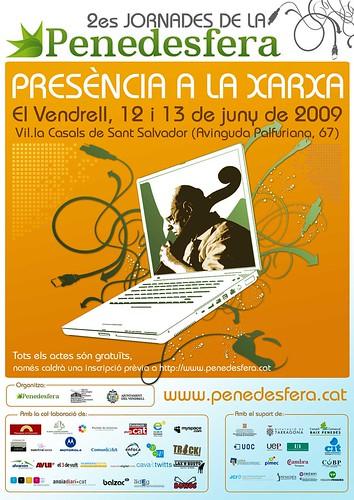 "2es Jornades de la Penedesfera: ""Presència a la xarxa"""