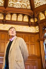 Stephen Fry visits Bletchley Park