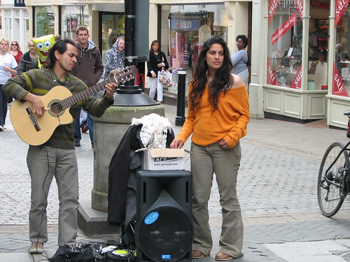 Street Player at Windsor