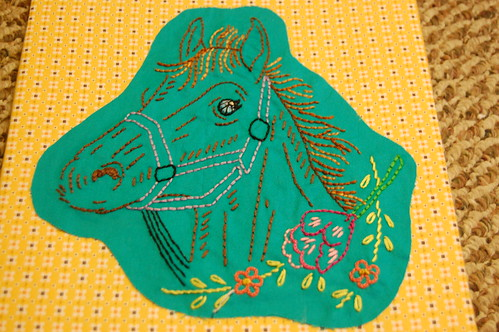 Horse Embroidery