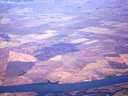 Wind Farm, SFO to EWR by you.
