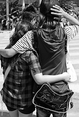 _M8_L1014550bw copy (mingthein) Tags: street leica ltm blackandwhite bw monochrome hug couple availablelight voigtlander pda streetphotography photojournalism m8 ming asph nokton malay reportage onn 5015 thein photohorologer