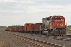 DMIR 402 with Ballast Loads in Virginia (look4trains) Tags: virginia trains mow dmir tunnelmotor sd403