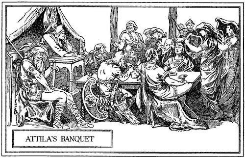 banquete de Atila