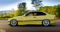 Nick's e36 M3 (nikocb) Tags: summer motion nikon european euro fast m german bmw roller modified dakar m3 coupe rolling s50 beemer motorsport modded 3series bimmer e36 mseries