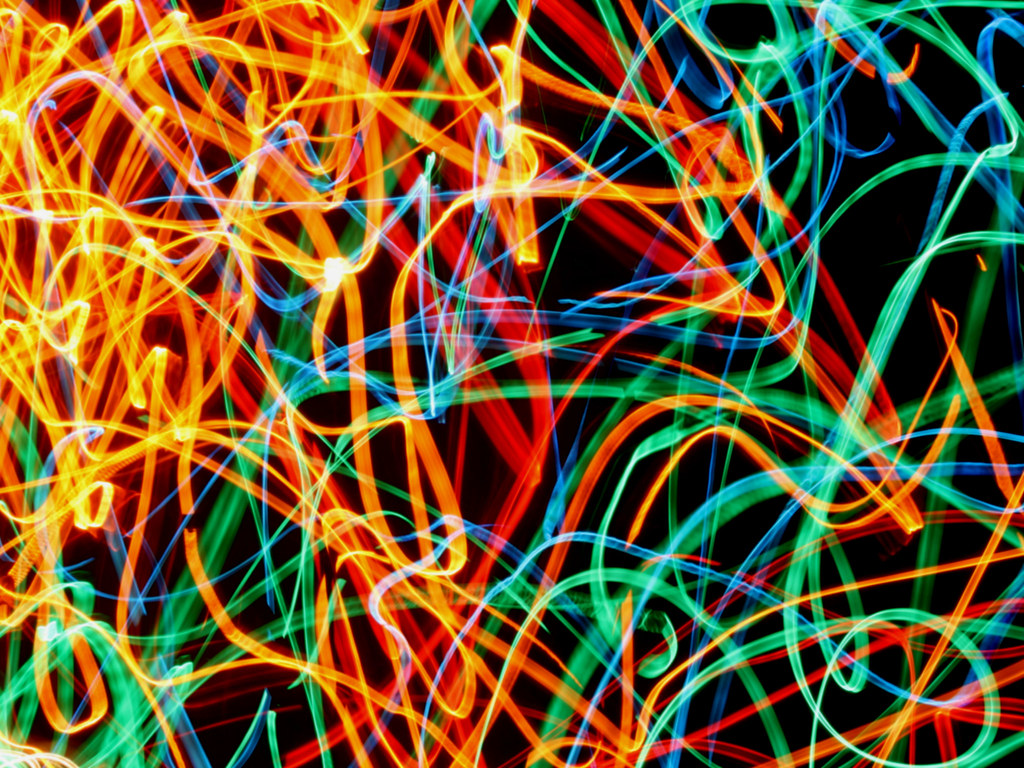Painting With Lights Series (Christmas Lights I Found) Experiment 1