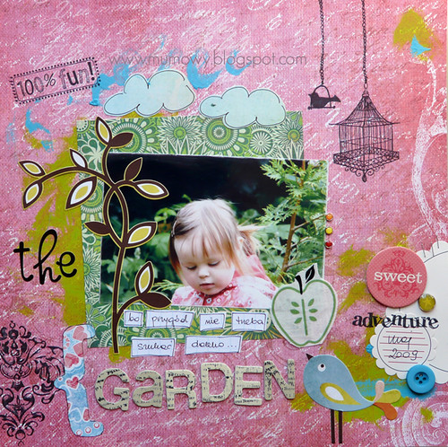 scrap ogrodowy /the garden