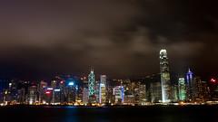 (wenzday01) Tags: longexposure travel wallpaper sky hk water topv111 topv2222 skyline night clouds skyscraper hongkong lights harbor topv555 topv333 nikon widescreen topv1111 topv999 central topv777 nikkor  topv3333 169 ifc hsbc tst tsimshatsui bankofchina victoriaharbour victoriaharbor d90 nikond90 18105mmf3556gedafsvrdx