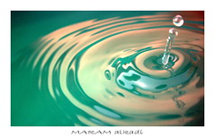 Drop of water (..MaRaM Al Kadi.. ) Tags: