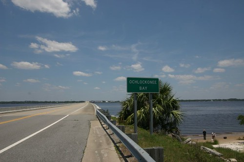 Ochlockonee Bay, Florida.