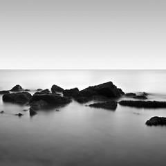 Untitled (Fahad Nasir -I'm Back- :D) Tags: longexposure bw white seascape black square nikon fineart slowshutter minimalism untitled hoya 1735mm nd400 d700