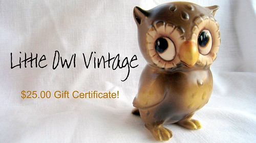 little owl vintage