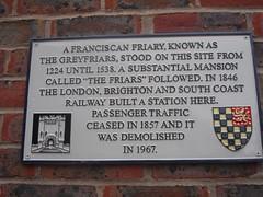 Photo of Grey plaque number 1310