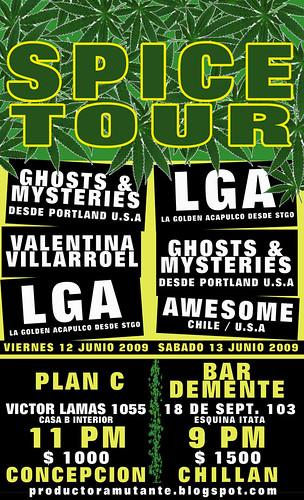 SPICE TOUR
