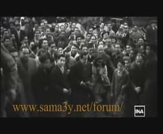 Samia Gamal & Farid Upon Arrival To The Theater - Tunis In 1951 (Tulipe Noire) Tags: africa star dance theater tunisia tunis egypt middleeast belly 1950s egyptian samia arrival 1951 farid gamal atrash