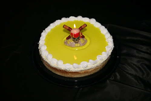 pirate birthday keylime cheesecake