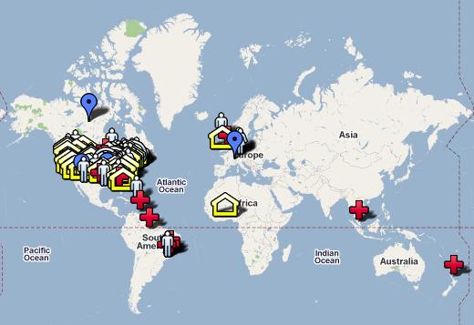 weltweite emergente Bewegung