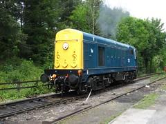 20110 Starting up (jono85) Tags: blue heritage train chopper br sdr diesel south railway class line devon vehicle locomotive preserved 20 gala preservation dds 20110 class20