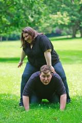 Leap Frog (Wiltbank Photography) Tags: dave engagement lisa lk portatrait
