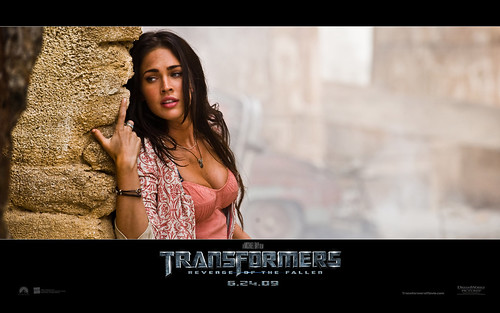 Wallpaper Transformers 2 Megan Fox