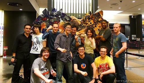 Fanáticos de Transformers cine