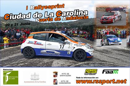 I Rallyesprint Ciudad de La Carolina - Puerta de Andalucía (Resultados)