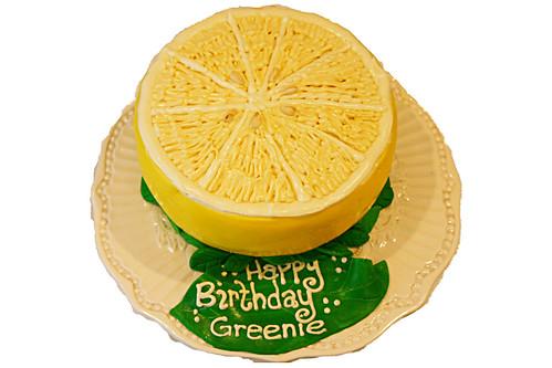3-D Lemon Cake