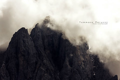 Deepthroat (Korso87) Tags: mountain rock clouds deep peak trentino