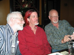 Robert, Mike, and Rod  at the Farm Cafe