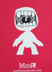 MouthFace (mediamolecule) Tags: face mouth foundart mediamolecule littlebigplanet sackboy