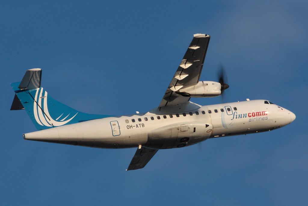 Finncomm Airlines - OH-ATB - ATR ATR-42-500