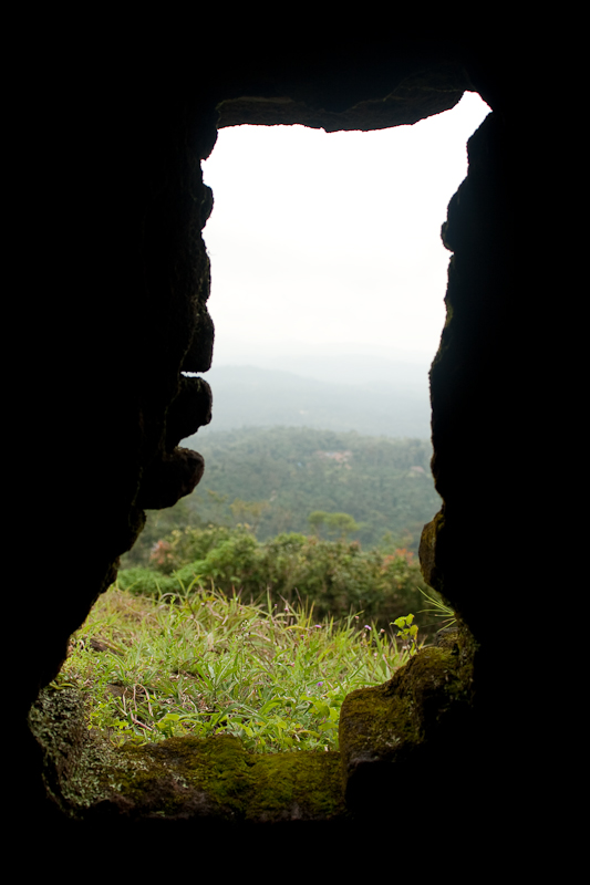 View from another slit, Manjrabad, Sakleshpur - Chitra Aiyer Photography