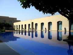 () Tags: city blue vacation india holiday fountain pool architecture hotel design pond paradise delhi capital bluewater bleu oasis posh expensive gurgaon rtw vacanze newdelhi roundtheworld trident bluepool globetrotter haryana myhotel republicofindia luxuryhotel worldtraveler 22days 8102009     tridenthotel  hoteltrident 10082009  tridentgurgaon october82009